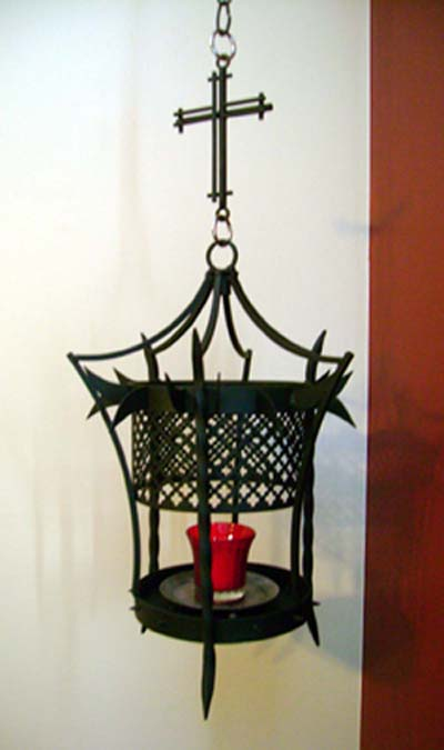 Medieval candle holder 16th century metal work